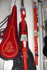 Instruments traditionnels kyrgyzes.