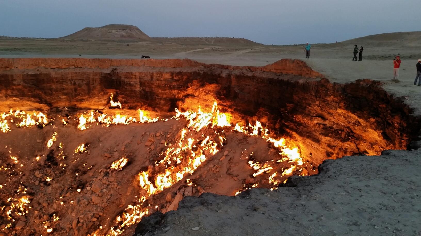 Darvaza les portes de l 39 enfer - Turkmenistan porte de l enfer ...